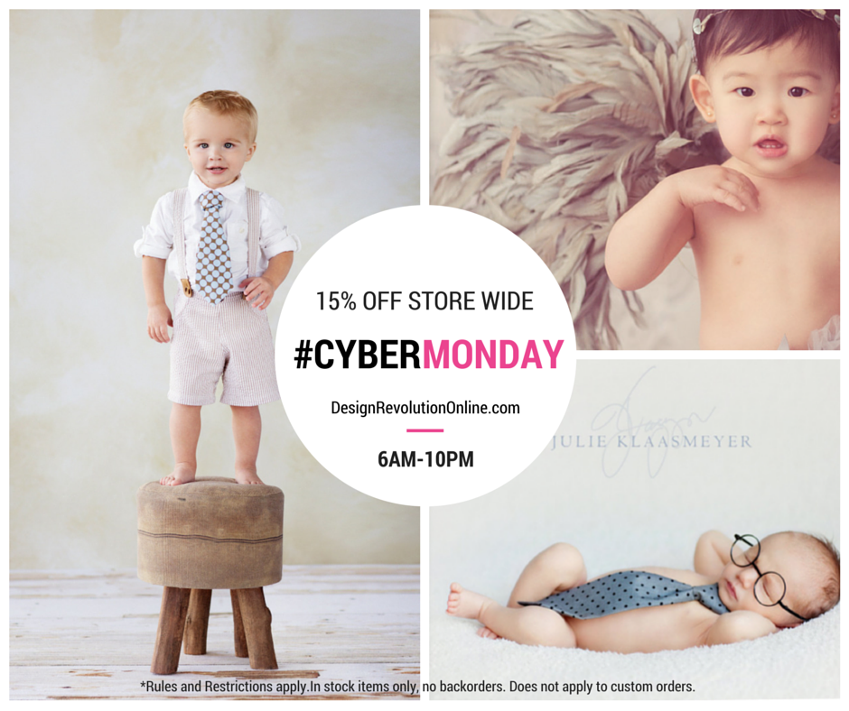 Cyber Monday photography sale