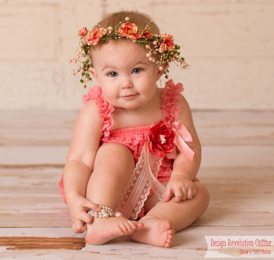 Trending tuesday floral crowns peach coral head wreath izmirmasajfo Images